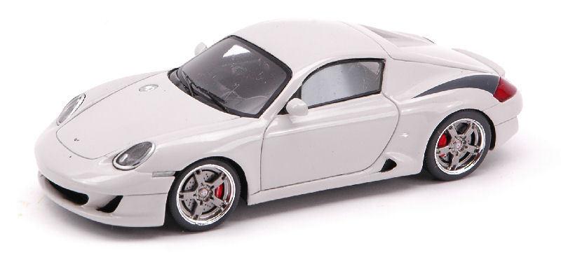 Ruf rk coupé  2007 marmor grau 1 43 modell s0713 funke - modell