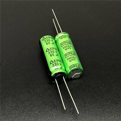 5pcs Nippon Photo Flash PH capacitor 320V115uf 320V 10x42mm