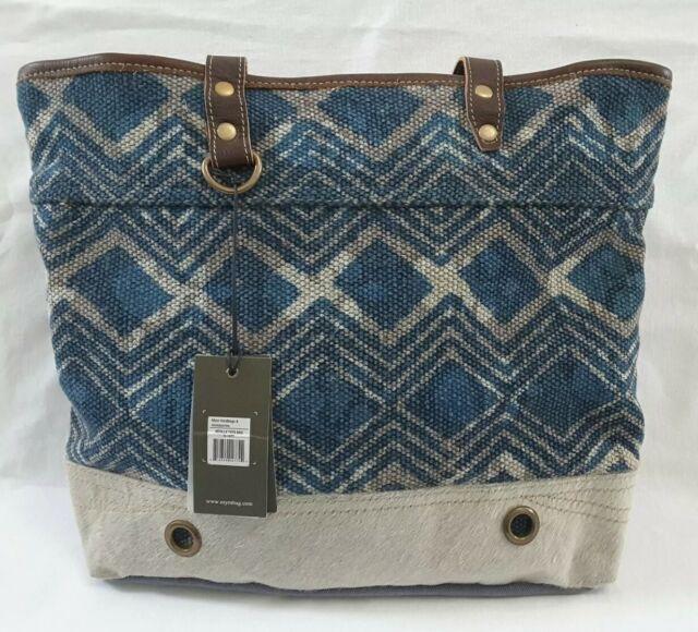Myra Bag Neville Tote Bag Leather Fur Canvas Handbag Purse For Sale Online Ebay Vind fantastische aanbiedingen voor myra. myra bag neville tote bag leather fur canvas handbag purse