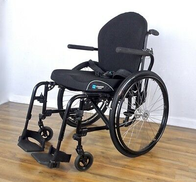 TiLite Aero-X wheelchair -  Jay J3 back, Kenda tires, CURVE cushion, seat 18x17