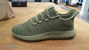 85f65c2db10c Adidas Tubular Shadow Knit Olive Cargo Green Mens BY3708 Size 8-13 ...
