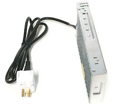 Makermotor 12v Dc Regulated Switching Power Supply 17a Power Cord Onoff Switch