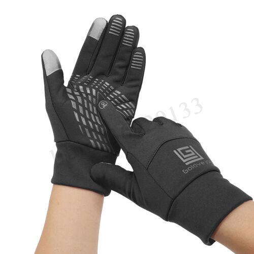 Men Women Warm Winter Waterproof Windproof Outdoor  Screen Driving Gloves