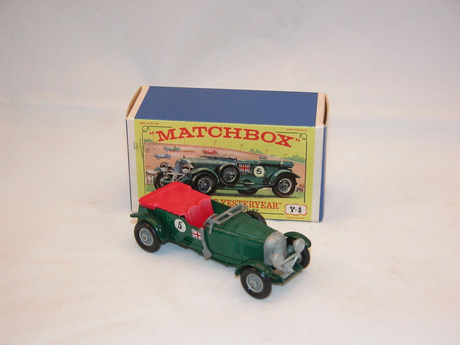 Matchbox Model of Yesteryear MOY Y 5-2-7  Bentley  Neuf Boite, Rare ( CLA1)