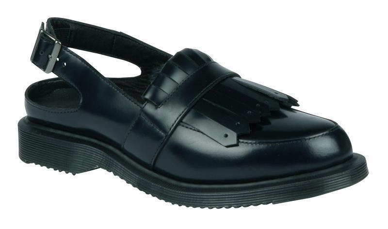 Dr martens slip on sandals valentine black 20852001 original doc