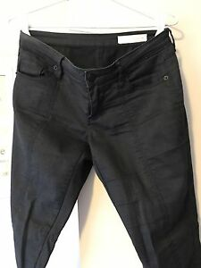 Women-s-Sass-And-Bide-Black-Designer-Jeans-Size-8
