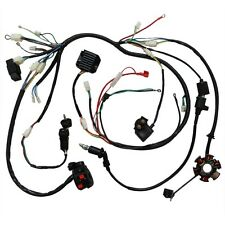s l225 full electrics wiring harness cdi coil solenoid gy6 150cc atv quad