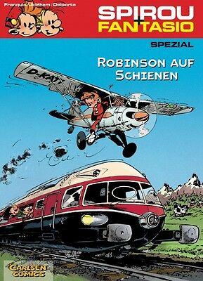 Aktiv Spirou & Fantasio Spezial 12: Robinson Auf Schienen - Deutsch - Carlsen -neuware Auf Dem Internationalen Markt Hohes Ansehen GenießEn