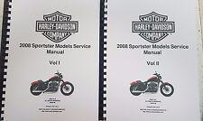 HARLEY DAVIDSON 2008 SPORTSTER SERVICE MANUAL REPRINTED A4