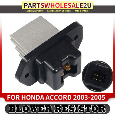 HVAC A//C Blower Motor Resistor for Acura RSX 2002-2006 TL Honda Accord Coupe 2003-2005 New