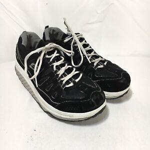 Skechers-Shape-Ups-Women-039-s-9-Black-Air-Cooled-Memory-Foam-Walking-Toning-Shoes