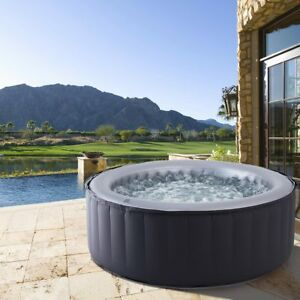 Whirlpool In-Outdoor Pool Wellness Heizung Massage aufblasbar MSpa SPA Ø180x70cm