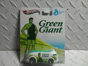 Hot-Wheels-Pop-Culture-General-Mills-Verde-Gigante-Haulin-039-Gas-con-Real-Rider