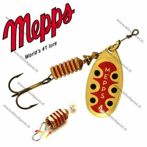 BRAND NEW. Mepps Aglia TW Series Spinner Baits with Detachable CHANGEABLE HOOK