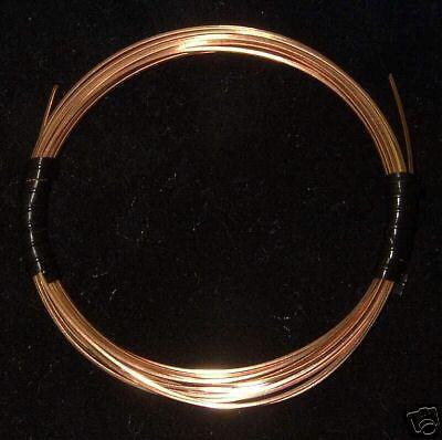 10 FT Jeweler/'s Brass wire Round 22G DS gold alternative!
