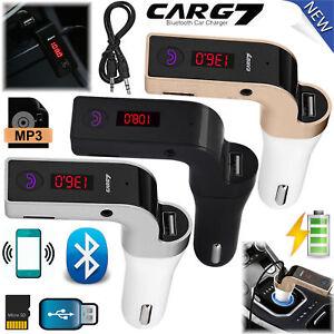 Wireless-Bluetooth-FM-Transmitter-Radio-Car-Kit-MP3-Music-Player-LCD-USB-Charger