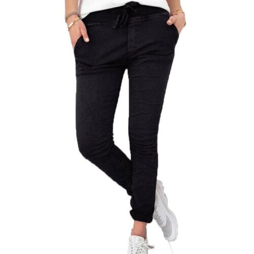 Womens Ladies Stretchy Skinny Jegging Pants Slim Fit Casual Trousers Leggings UK