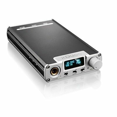 xDuoo XD-05 Audio DSD DAC PCM DXD Portable Headphone Amplifier 32BIT 384KHZ US!