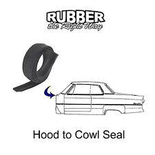 1958 1959 1960 Ford Thunderbird Hood to Cowl Seal