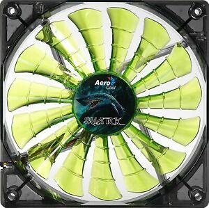 Aerocool Shark PC Case Fan 12cm Evil Green