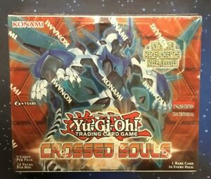 YuGiOh Crossed Souls booster box 1st Edition Sealed New