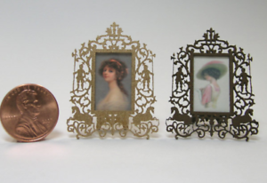 Small Kit Antique Victorian Easter Standees CHM