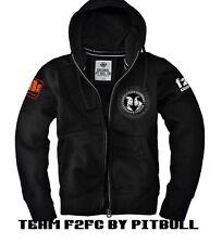 TEAM F2FC Zip Hoodie mma, bjj by Pit Bull West Coast (size XL)