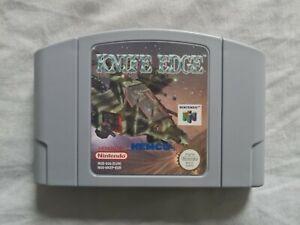 KNIFE Edge Nintendo 64 N64 juego PAL Versión