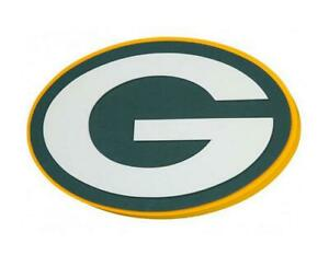 Green-Bay-Packers-XXL-Relief-3D-Optik-Magnet-Foam-Logo-NFL-Football