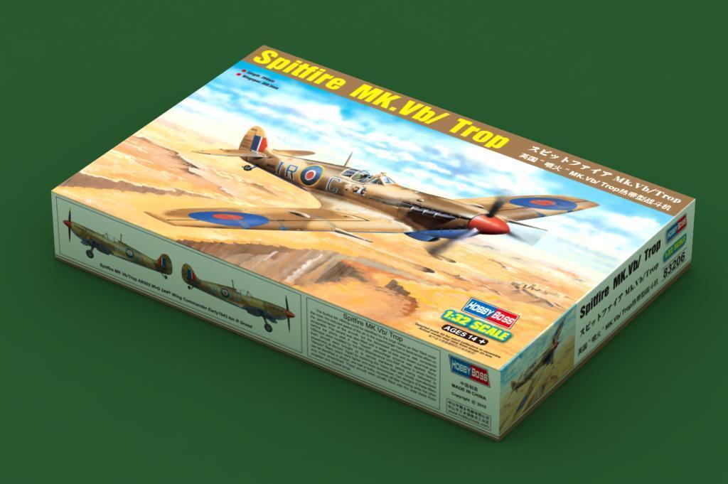 punto de venta en línea Hobbyboss 1 32 súpermarine súpermarine súpermarine Spitfire Mk.vb Tropical  83206  promocionales de incentivo