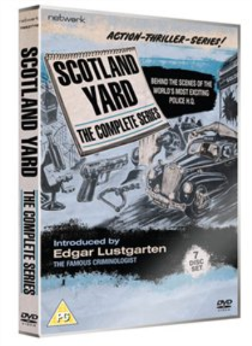 Russell Napier, Harry H. Co...-Scotland Yard: The Complete Series DVD NEW