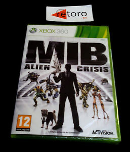 MIB-MEN-IN-BLACK-ALIEN-CRISIS-Xbox-360-PAL-Espana-Espanol-NEW-Precintado-xbox360
