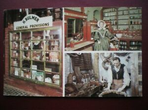 POSTCARD-CHESHIRE-CHESTER-BRITISH-HERITAGE-CENTRE-THE-ROWS