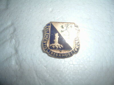 MILITARY INSIGNIA CREST DUI SET OF 2 US ARMY QUARTERMASTER CORPS
