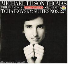 Tchaikovsky: Orchestral Suites (Suite Per Orchestra) No 2 & 3 / Tilson Thomas LP