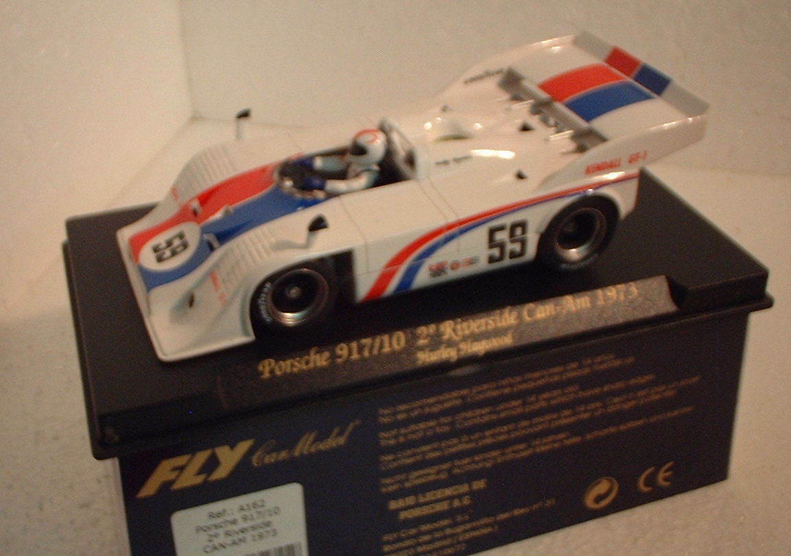 Qq to 162 FLY PORSCHE 917 10 2º RIVERSIDE CAN AM '73 HURLEY HAYWOOD