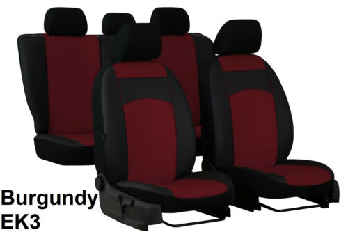 VAUXHALL ASTRA K Mk7 2015 PRESENT ECO LEATHER SEAT COVERS MADE TO MEASURE