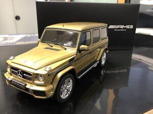 Mercedes-Benz-G63-AMG-1-18-Modell-1500stk-Limitiert-Perlgold