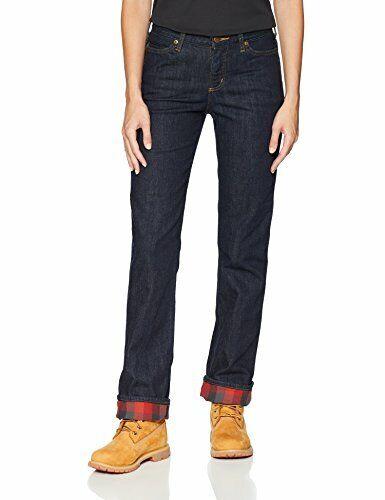 Choose SZ//color Carhartt Women/'s Original Fit Blaine Flannel Lined