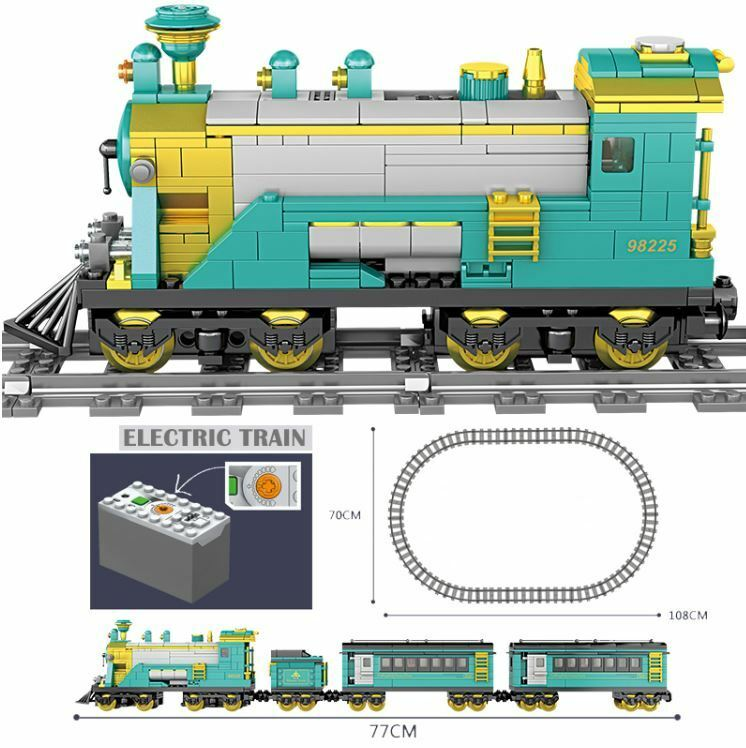 Kazi: Battery powerosso City Train