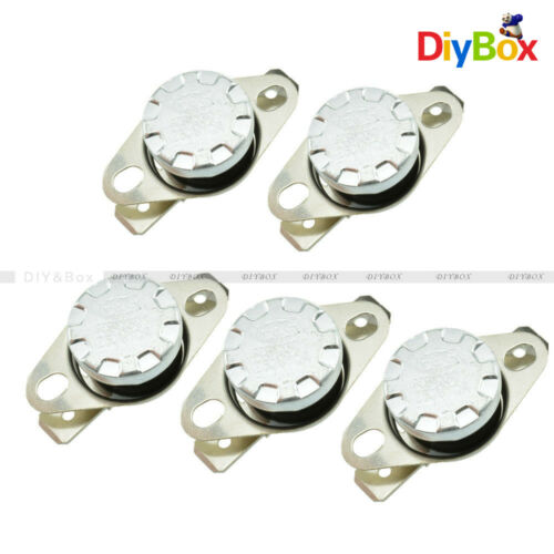 Normal Open Temperature Switch Thermostat 10A 250V 104°F N.O 5PCS KSD301 30°C