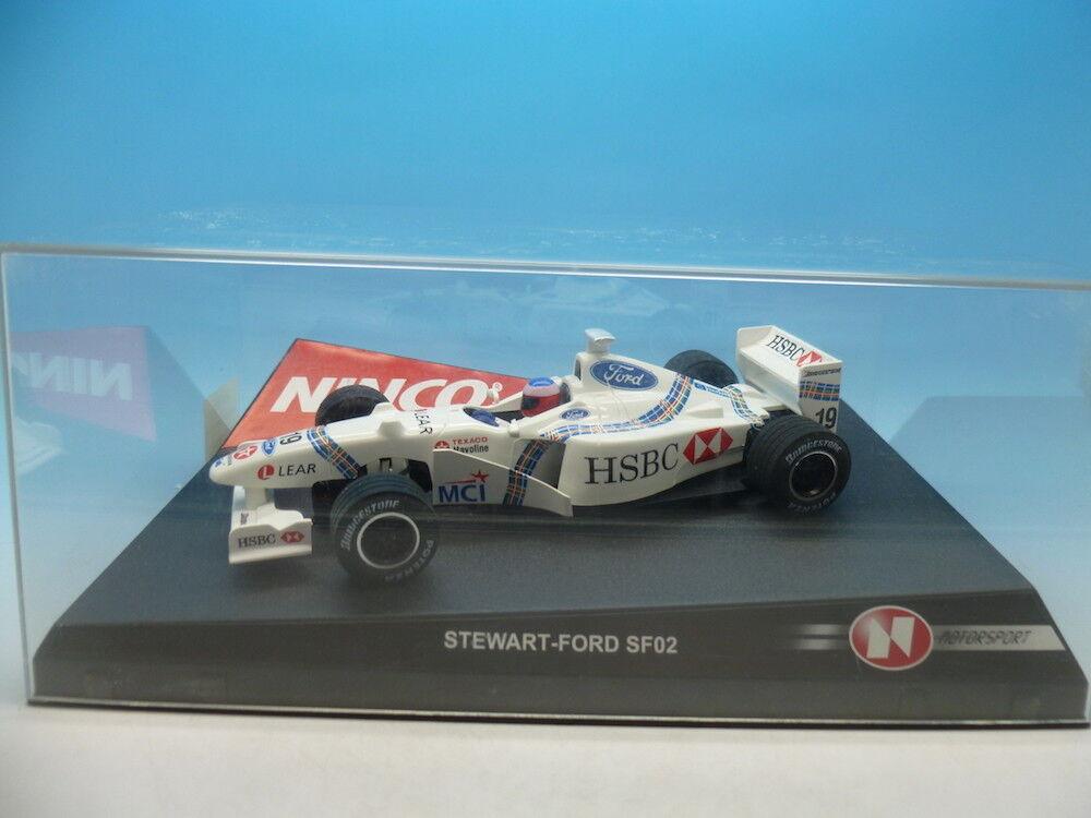 Ninco 50186 Stewart Ford No19 F1 mint unused