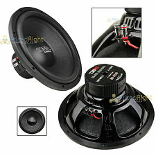 "DS18 BD-X154D 15"" Inch Car Subwoofer 1400W Max Dual 4 Ohm Bass Speaker Sub"
