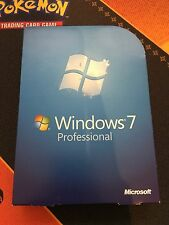 Microsoft Windows 7 Professional PRO Full UK Retail 32/64-BIT DVD