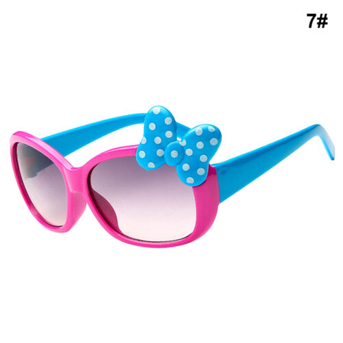 Kids Girls Boys Bow Glasses Sunglasses Cartoon Style Fashion 8 Color   HOT