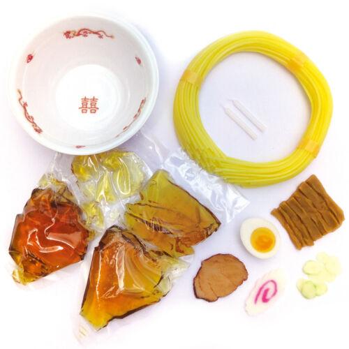Replica Food Making Kit FOOD SAMPLE Shoyu Ramen Soy Sauce Noodles JAPAN