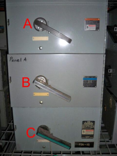 SIEMENS V7F3204 200A 240V 3Ph 200K Used