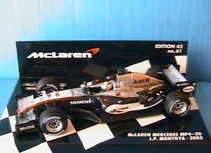 MCLAREN-MERCEDES-MP4-20-10-2005-JP-MONTOYA-MINICHAMPS-530054310-1-43-F1-GP