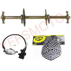 Rear-Axle-Hub-Sprocket-Disc-Chain-Brake-Master-Assembly-ATV-Quad-go-kart-Buggy