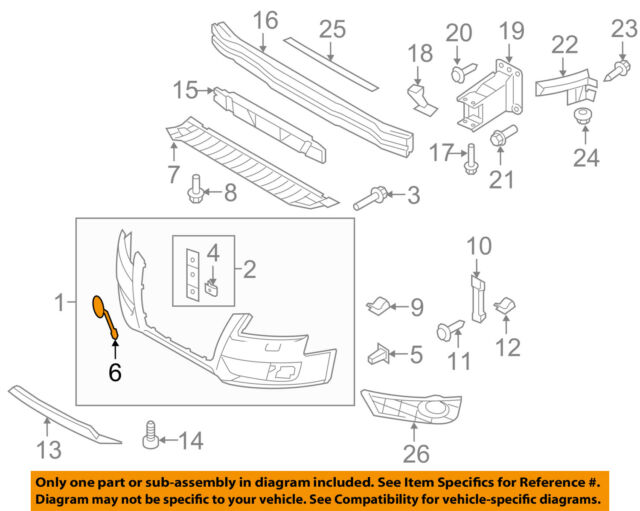 Genuine Ford End Cover JL3Z-17E810-AB RIGHT SIDE ONLY
